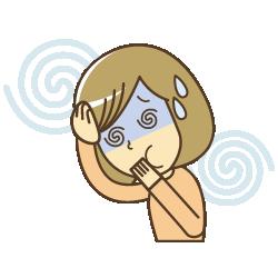 辛い頭痛に悩まされている人